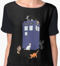 Doctor Who: Cats Chiffon Top