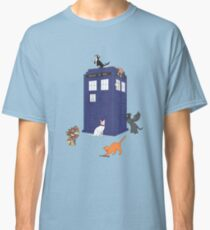 Doctor Who: Cats Classic T-Shirt