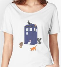 Doctor Who: Cats Women's Relaxed Fit T-Shirt