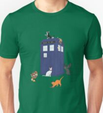 Doctor Who: Cats Unisex T-Shirt