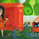Red Houses by Marianna Tankelevich