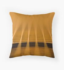 Acoustic depth #1 Throw Pillow