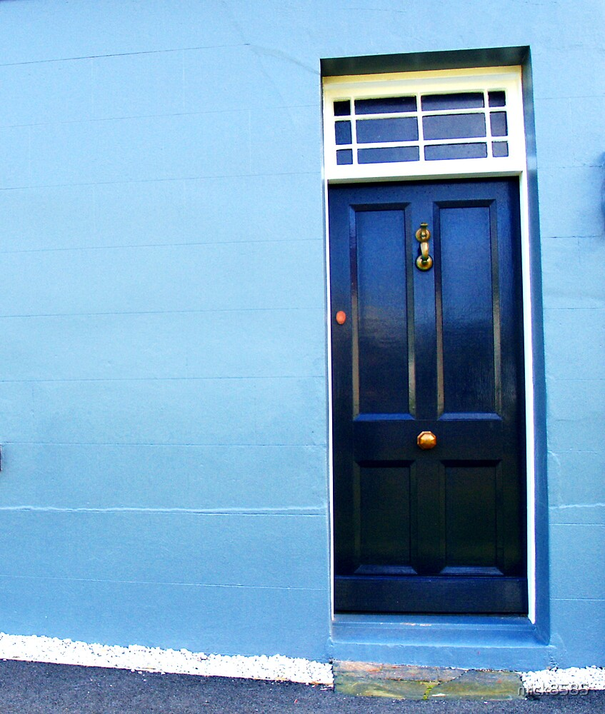 Stanley views - blue door by mick8585