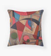 AbstractArcs Throw Pillow