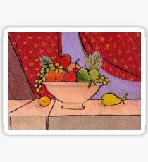 Fruit Bowl Sticker