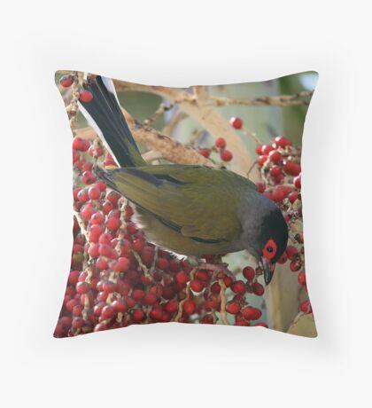 Fig Bird Throw Pillow