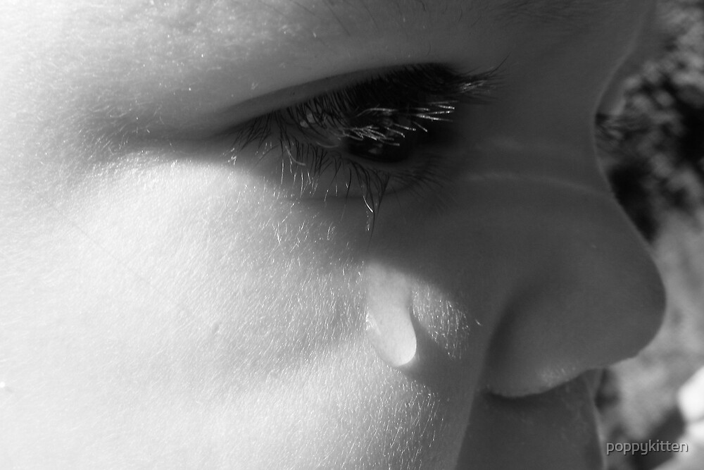 Don't cry! by poppykitten