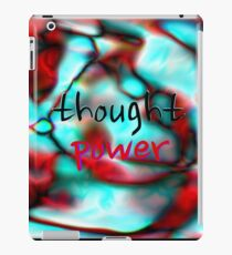 Thought Power iPad Case/Skin