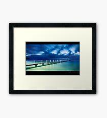 North Narrabeen Pool Framed Print
