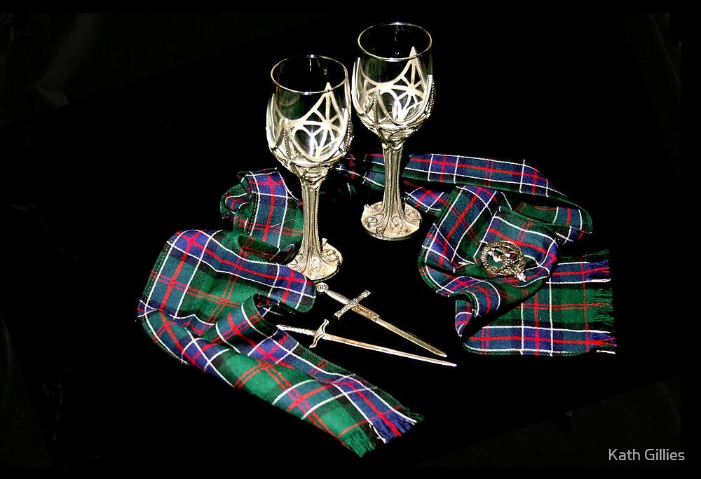 Scottish scarfe by Kath Gillies