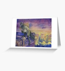 Gone By Sunrise Greeting Card