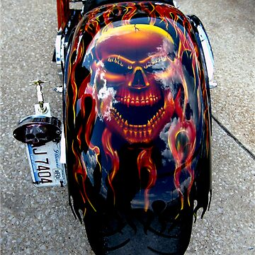 Harley Custom Paint Job by quin10