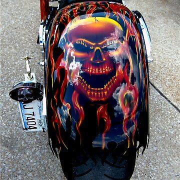 Harley Custom Paint Job by quin10