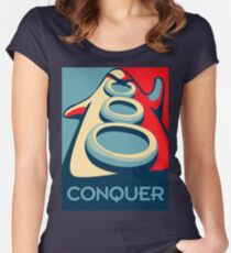 Conquer Women's Fitted Scoop T-Shirt