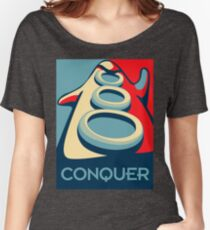 Conquer Women's Relaxed Fit T-Shirt