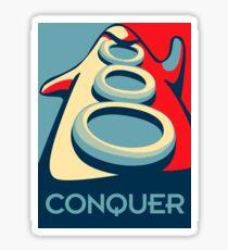 Conquer Sticker