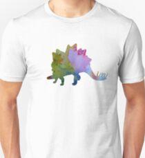 Dinosaur Art - Stegosaurus T-Shirt