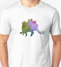 Dinosaur Art - Stegosaurus Unisex T-Shirt