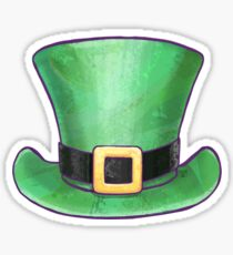 St Patricks Day Top Hat Sticker