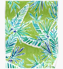TROPICAL GREENERY Poster