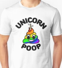 Unicorn Poop Unicorn Horn Magical Poop Sparkle Unisex T-Shirt