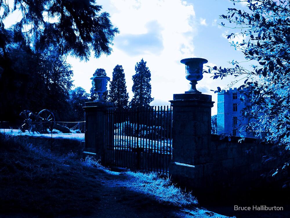 Chillingham Castle Gates by Bruce Halliburton