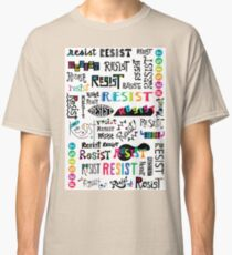 resist them white Classic T-Shirt