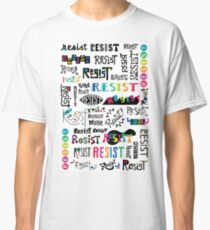 resist them white Classic T-Shirt