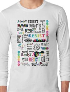 resist them white T-Shirt