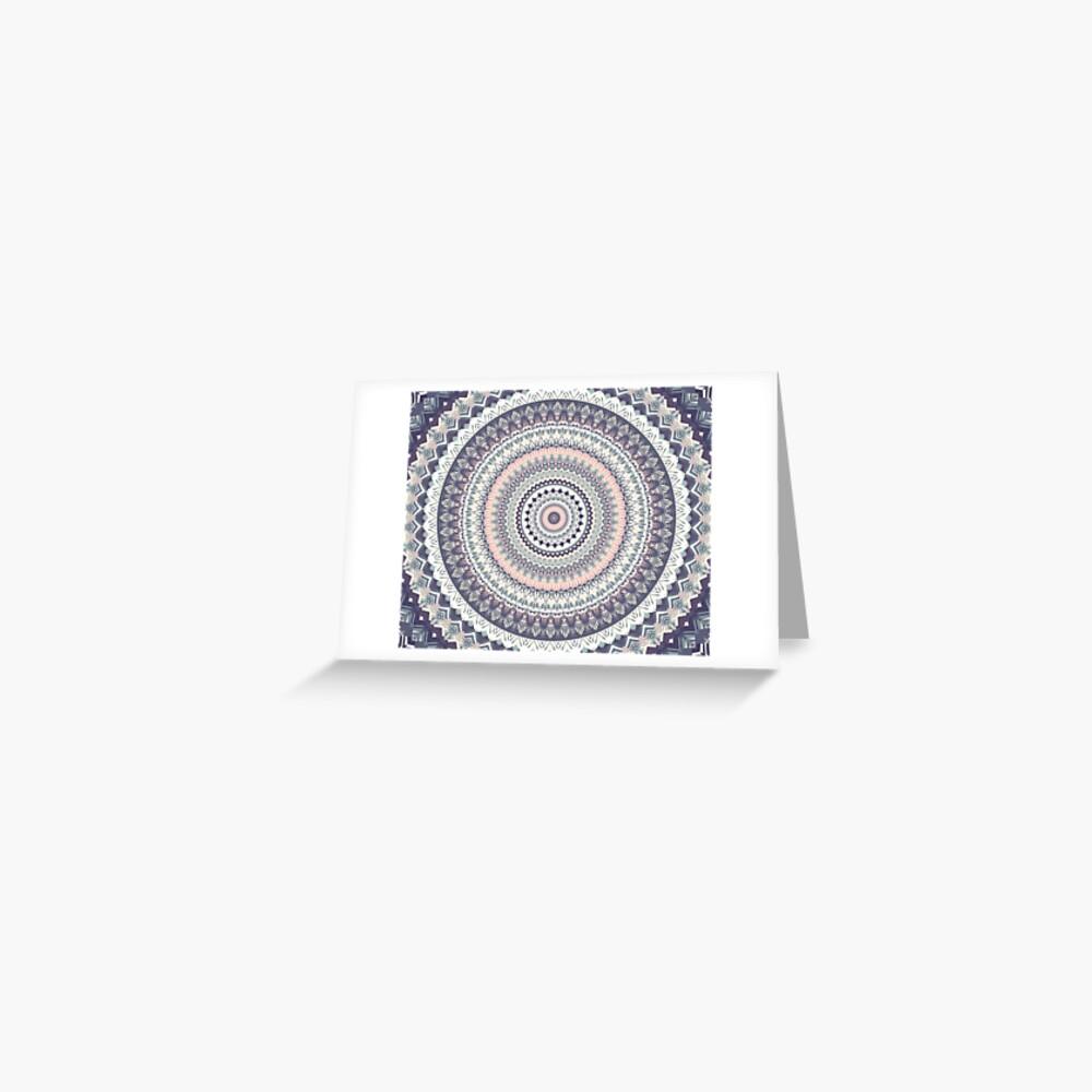 Mandala 203 Tarjetas de felicitación