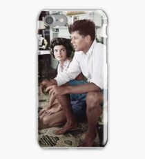 John F. Kennedy with his wife iPhone Case/Skin