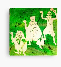 Three Hitchhikers Canvas Print