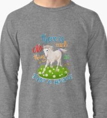 NO Such thing as JUST A HORSE Lightweight Sweatshirt