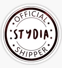 Official Stydia Shipper Sticker