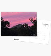 Pink Sky Girraween  Postcards