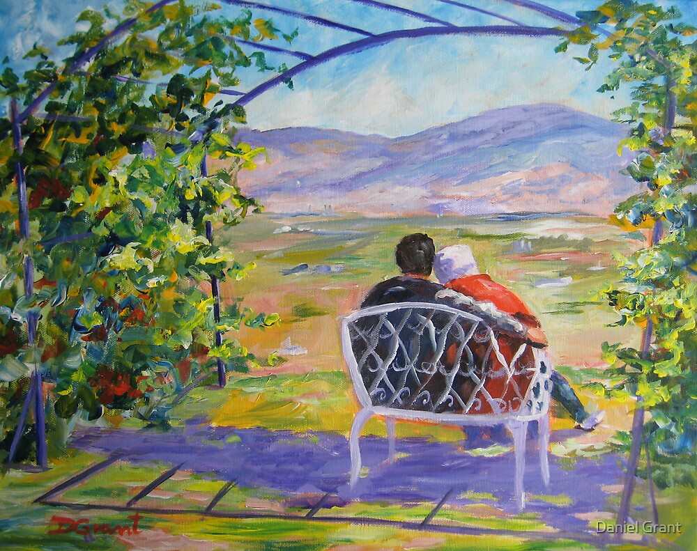 Sitting under the Arbour  by Daniel Grant