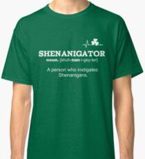 Funny St Patricks Day Shenanigator Definition Gift  Classic T-Shirt