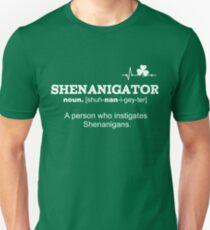 Funny St Patricks Day Shenanigator Definition Gift  Unisex T-Shirt