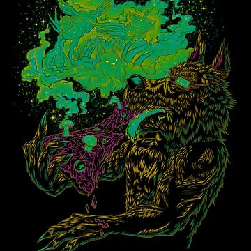 Trippy Wolf V2 by BobyGates