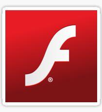Adobe Flash logo Sticker