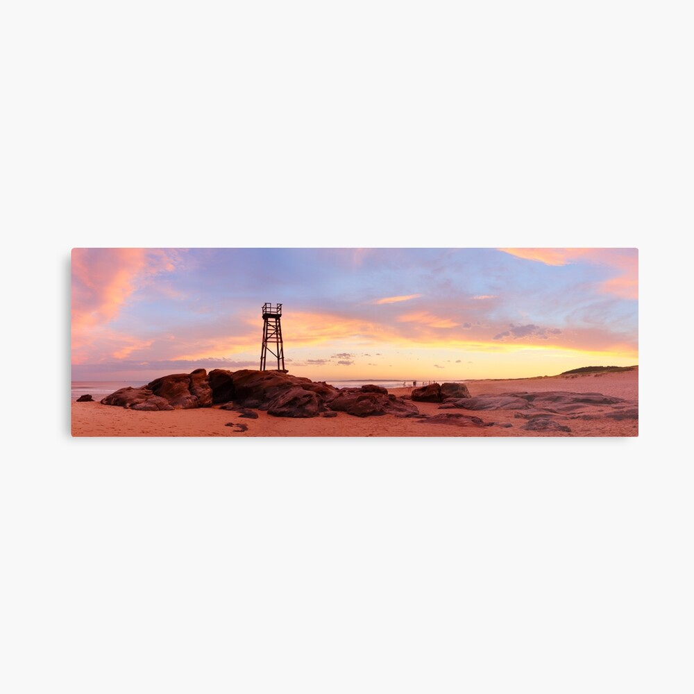 Redhead Beach Sunset, Newcastle, New South Wales, Australia Metal Print