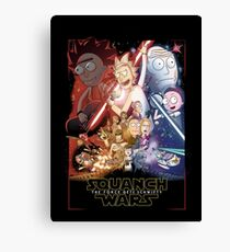 The Squanch Wars Canvas Print