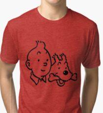 Tintin & Milou Tri-blend T-Shirt