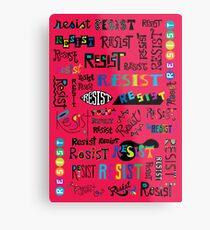 Resist Them cherry Metal Print