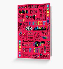 Resist Them cherry Greeting Card
