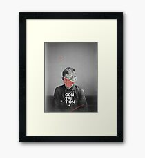 Contrition Framed Print