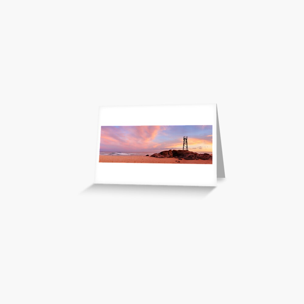 Day's End, Redhead Beach, Newcastle, New South Wales, Australia Greeting Card