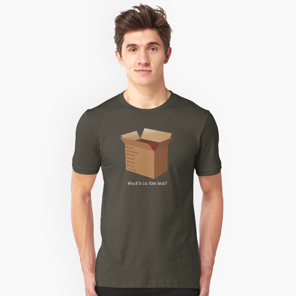 What's in the box? Unisex T-Shirt Front