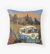 Grateful Dead -  Bear Vacation Throw Pillow