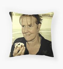 It's Taken A Lot Of Will Power But I've Finally Managed To Give Up Dieting!! Throw Pillow